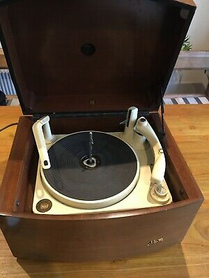 Vintage Monarch BSR Record Player In Box