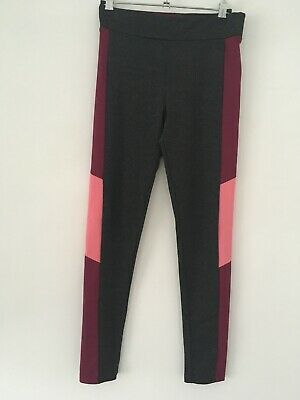 Young Dimension Girls Grey Active Wear Gym Dance Leggings Age 13-14 Years Vgc