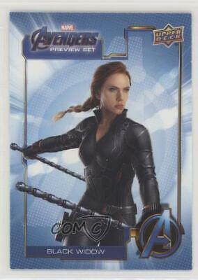 2019 Upper Deck Marvel Cinematic Universe 10th Anniversary #AV-5 Black Widow p1l