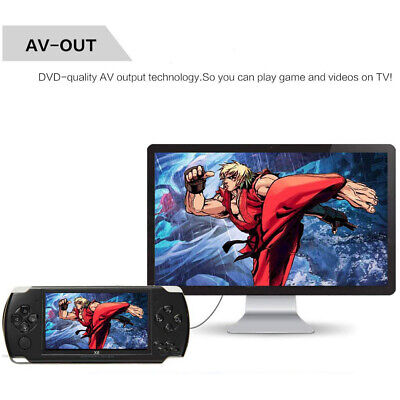 Portable 8GB Handheld PSP Game Console Player Built-in 1000 Games 4.3'' Consoles