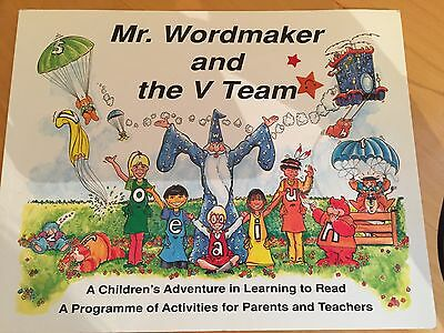Mr. Wordmaker and the V Team - Crouch - Early reading teach child guide