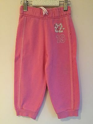 Next  18-24 Month  Girls Jogging, Pull on, Trousers, joggers, bottoms pink