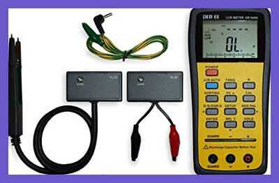 DE 5000 Handheld LCR M W Accessories FREE SHIPPING Precision Measuring