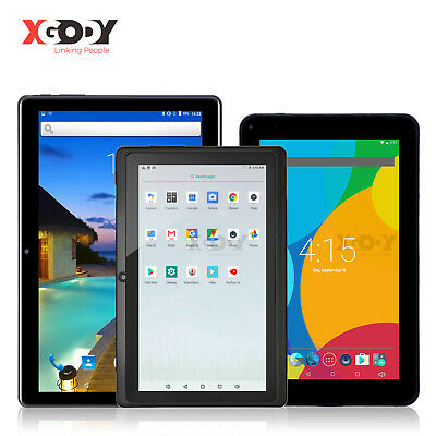 "XGODY Newest 7""/9""/10.1"" inch android Tablet PC 16GB ROM 1GB RAM Quad-core 2xCam"