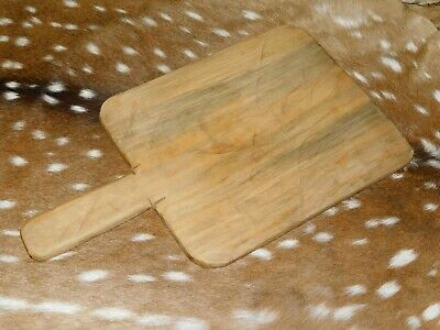 """Wooden Antique Style CHEESE Cutting Board Wood Serving Tray Primitive 19 1/2"""""""