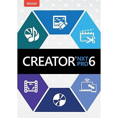 Roxio Creator NXT Pro 6 - Lifetime Activation - Instant Delivery