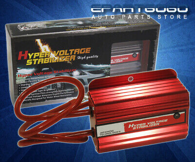 Authentic D1 SPEC Voltage Stabilizer II Red LED DISPLAY For Acura Integra RSX