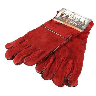 Lined Red Gauntlets WLD00180 Weldfast Genuine Top Quality Product New