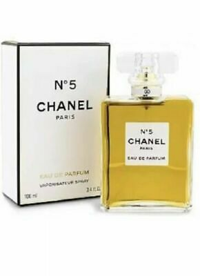 CHANEL No 5 EDP 3.4 FL Oz 100 Ml Eau De Parfum - Perfume Spray