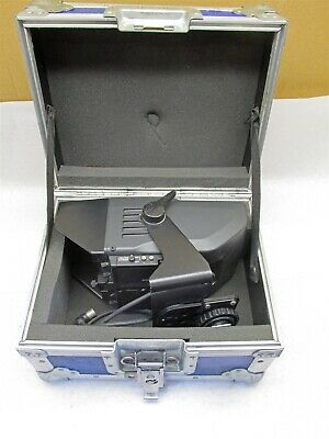 Sony Electronic View Finder BVF-55 In Vintage Anvil Case -D7738