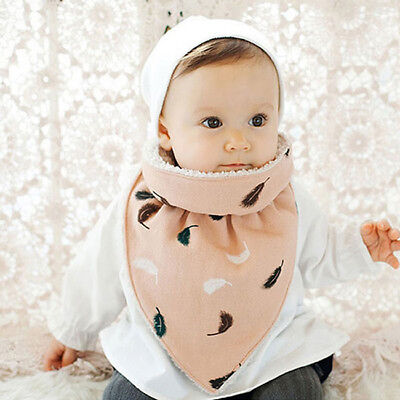 Infant Cotton Feeding Bibs Towel Dribble Saliva Triangle Scarf  P3