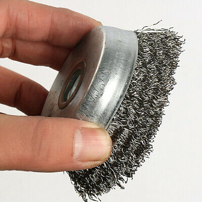 Cup Wire wheel brush Polishing Cleaning Rotary Equipment Stainless steel