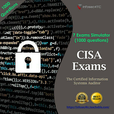 ISACA CISA Certification - Latest Exams (800 questions)
