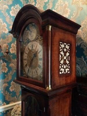 German Triple Weight Long Case Clock (W min - St Mich - Witt - Silent Chimes)