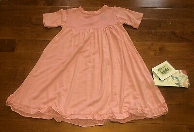 Kickee Pants Toddler Girl Orchid Swing Dress w Keyhole 3T New