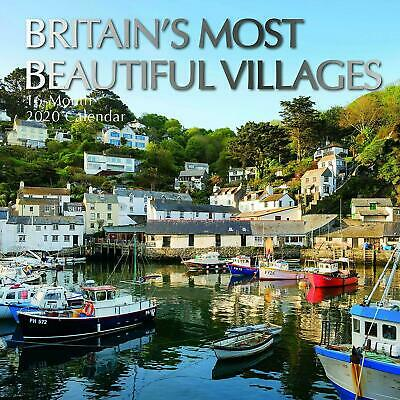 2020 Wall Calendar Britain's Most Beautiful Villages COASTAL COUNTRY - 16 MONTH
