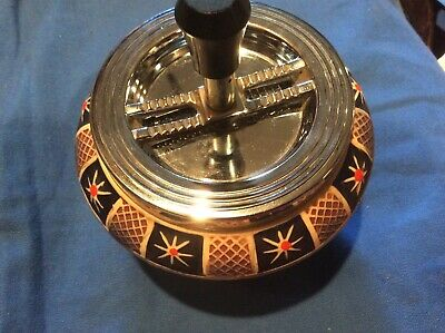 Gerz Embossed Drop Ashtray Germany