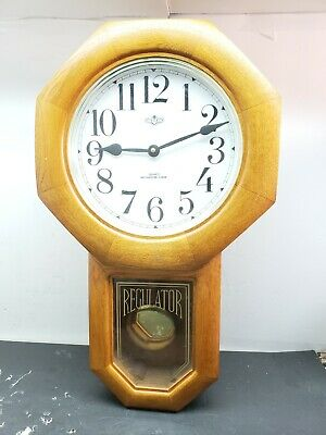 D & A Westminster Chimes Pendulum Quartz Wall Clock 3D