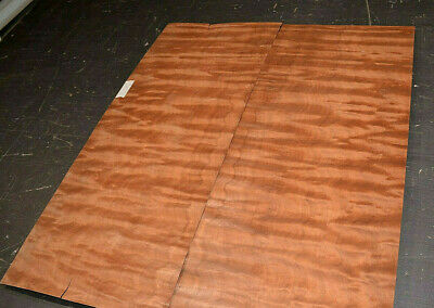 Makore Raw Wood Veneer Sheets 6.5 x 53 inches 1//42nd thick              r4730-41