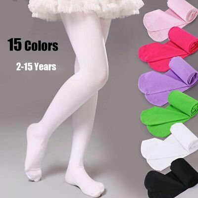 Kids Children Girls Hosiery Ballet Socks Candy Color Tights Pantyhose Stockings