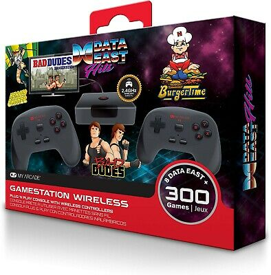 Data East Hits My Arcade Gamestation Wireless 8 Data East Games+ 300 Games New