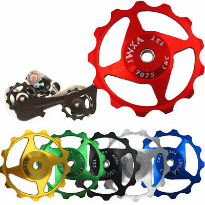 2x Jockey Wheel Pulley Alloy Rear Derailleur Bearing High Quality Spare Sleeves