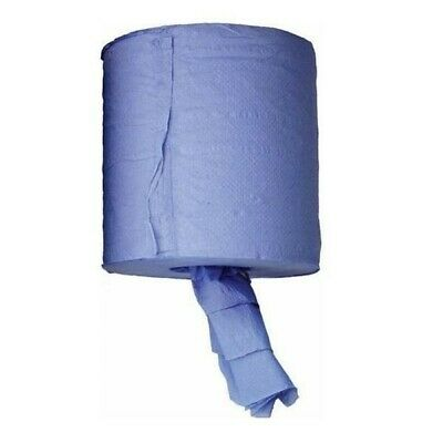 (Pk6)Centre Feed Blue Roll Pkt 6 AXC00100 AXCAR Genuine Top Quality Product New