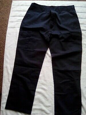"""decorator painter Workwear Waist 28/"""" or 30/"""" Mens Boys white trousers Cricket"""