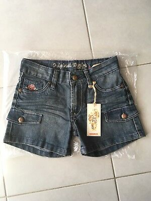 Bermuda short fille de marque Complices stone used 3D taille 10 ans Neuf