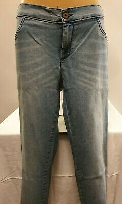 Ex Store - Girls - Skinny Fit Jeans - Denim Blue - Age 6 - 16 Years
