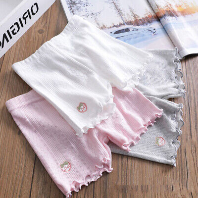 Summer Baby Girls Short Cute Solid Color Cotton Sports Casual Shorts Breathable*
