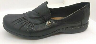 Women/'s Wine NEW Cobb Hill CDI02 Laura Nubuck Slip On Shoes Choose Your Size