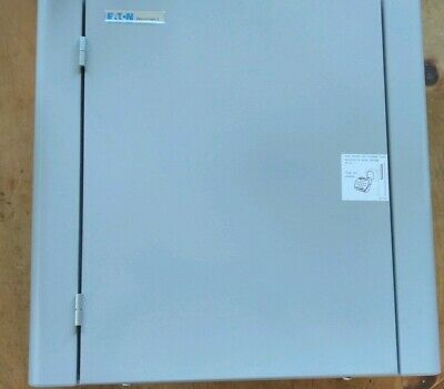 Eaton EBM41 Memshield 3 4 Way Type B Three Phase TPN Distribution Board new box