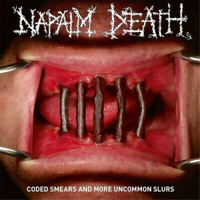 Napalm Death Coded Smears And More Uncommon Slurs 2 Cd New