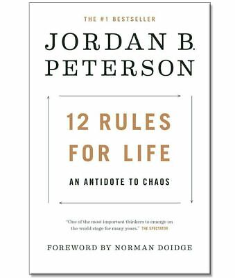 NEW 12 Rules for Life: An Antidote to Chaos Hardcover