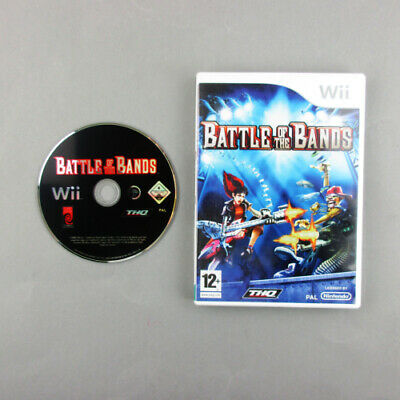 Nintendo Wii Spiel Battle of the Bands mit OVP ohne Anleitung AA