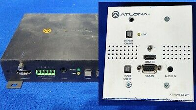 Atlona AT-HDVS-TX-WP & AT-HDVS-RX Units kit package