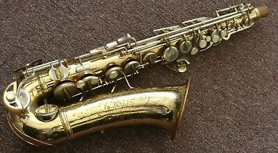 "Conn 6m Alto saxophone made for parts or repair ""Has No Neck"""