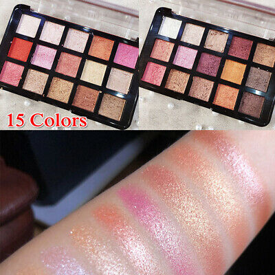 15 Colors Cosmetic Matte Pearlescent Eyeshadow Eye Shadow Makeup Palette Shimmer