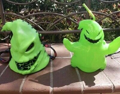 Disney Oogie Boogie Bash Popcorn Bucket & Sipper, New 2019 Light Up Set