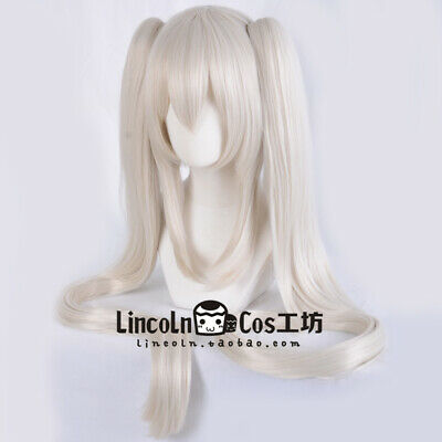 Fate Grand Order FGO Marie Antoinette Cosplay Bunches Hair Wig Game Sa