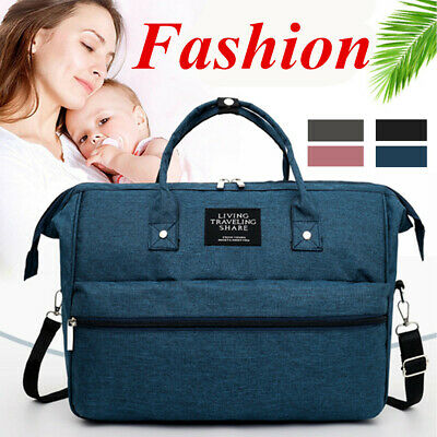 Large Luxury Large Mummy Maternity Nappy Diaper Bag Baby Bags Travel Backpack