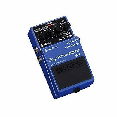 BOSS SY-1 Synthesizer Polyphonic Guitar Synthesizer Effects Pedal w/Tracking NEW