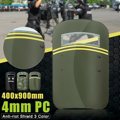 Anti-riot Hand-held Law Police Arm Shield Military Tactical CS Campus Security