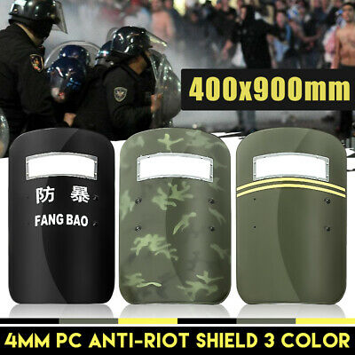 PC Anti Riot CS Military Tactical Police Defense Arm Shield Security