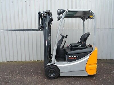 Still Rx50-15. Used 3W Electric Forklift Truck. (#2619)