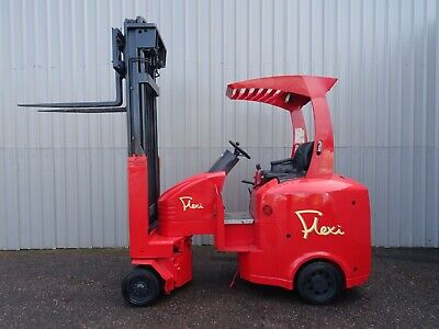 FLEXI G4AC, 2000Kg. USED ARTICULATED ELECTRIC FORKLIFT TRUCK. (#2593)