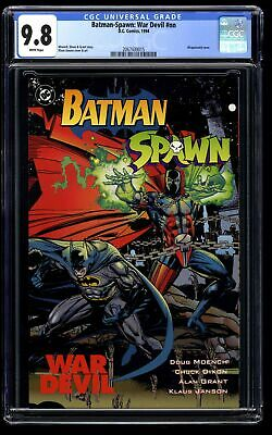 Batman-Spawn: War Devil #nn CGC NM/M 9.8 White Pages