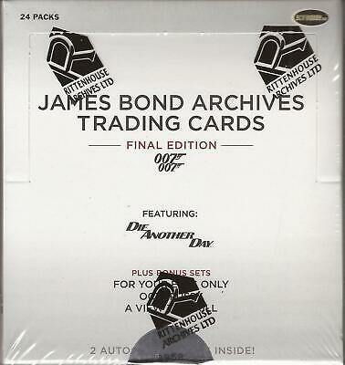 James Bond Archives Final Edition - Factory Sealed 24 Pack Box