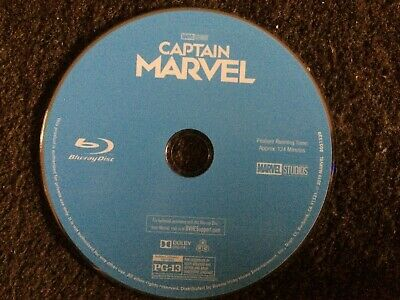 Captain Marvel Blu ray DISC ONLY REGION FREE US IMPORT